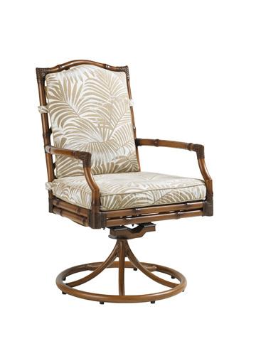 Image of Swivel Rocker Dining Chair