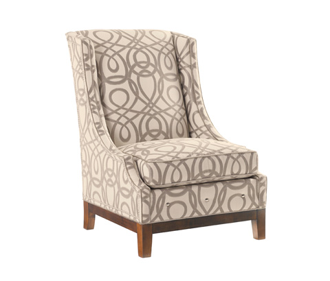 Lexington Home Brands - Ava Leather Wing Chair - LL7154-11