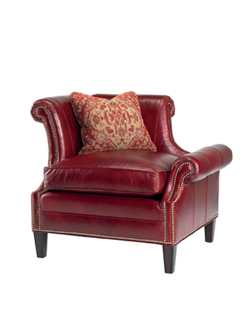 Image of Braddock Left Arm Facing Leather Chair