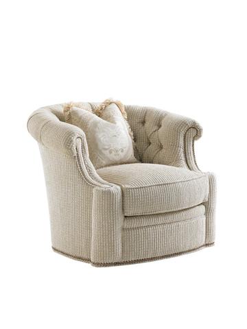 Image of Feroni Leather Swivel Chair