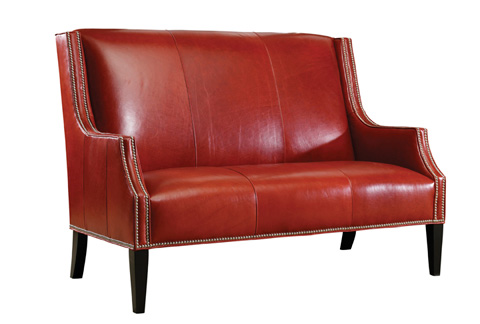 Lexington Home Brands - Turino Leather Settee - LL7841-23