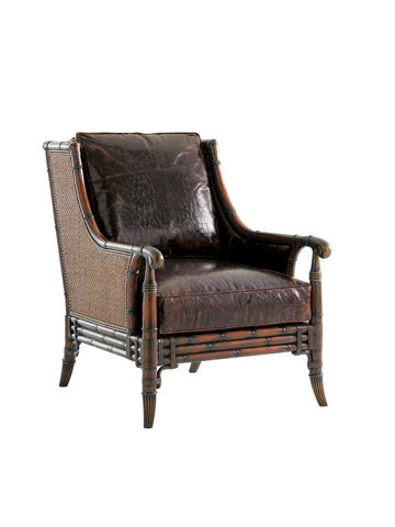 Tommy Bahama - Las Palmas Leather Chair - LL1666-11