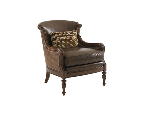 Tommy Bahama - Bluffton Leather Chair - LL1682-11