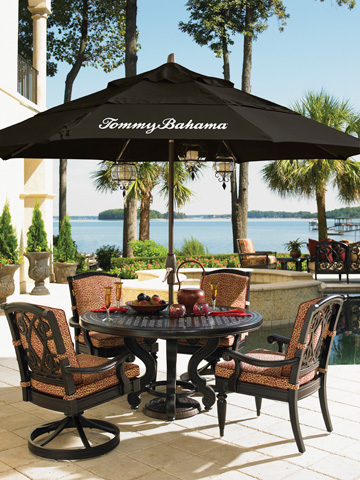 Tommy Bahama - Outdoor Cast Dining Table - 3190TBL