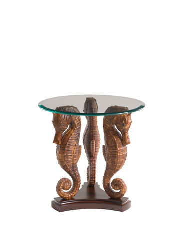 Image of Sea Horse Lamp Table