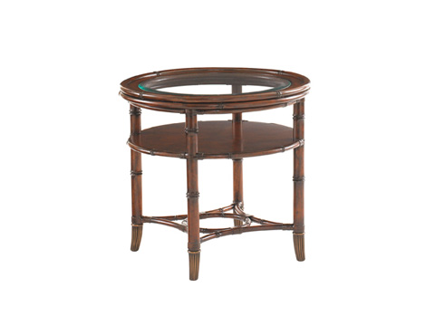 Image of Maricopa Round Lamp Table