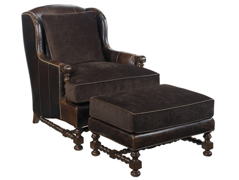 Lexington Home Brands - Bradbury Leather Chair - LL1538-11