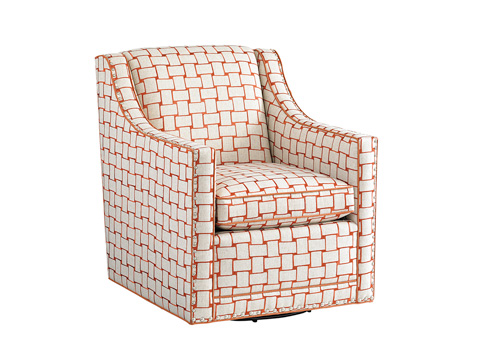 Lexington Home Brands - Barrier Swivel Chair - 7620-11SW