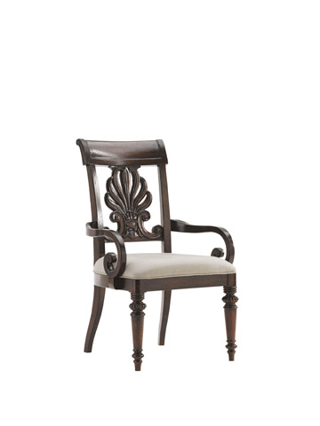 Tommy Bahama - Chester Carved Arm Chair - 548-881-01