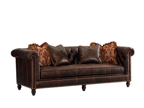 Tommy Bahama - Manchester Leather Sofa - LL7994-33AA