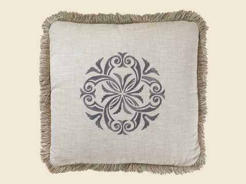 Image of Charcoal 20 Signature Pillow