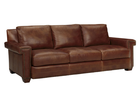 Image of Torres Leather Sofa