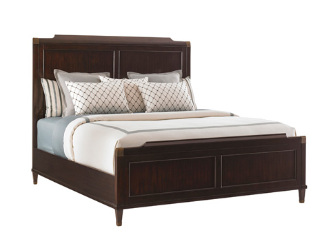 Image of King Bennington Panel Bed