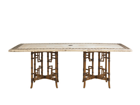 Image of Stone Top Dining Table