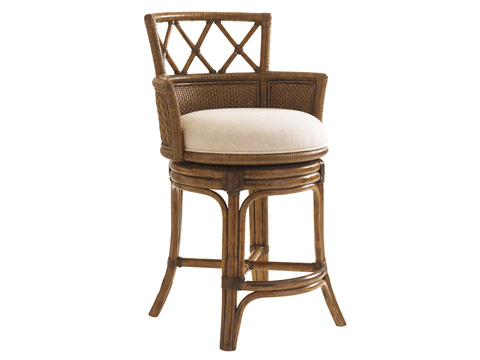 Image of Kamala Bay Swivel Counter Stool
