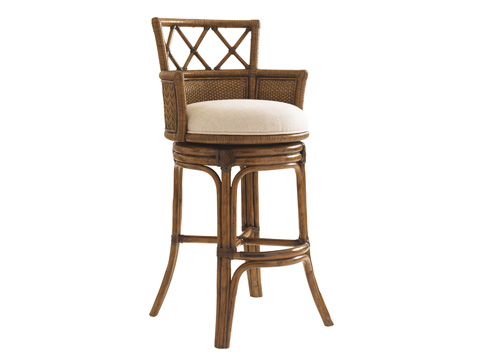 Image of Kamala Bay Swivel Barstool