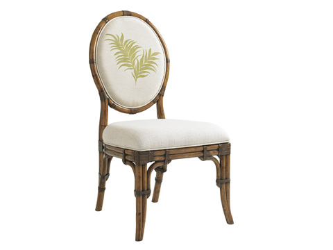 Tommy Bahama - Gulfstream Oval Back Side Chair - 593-880-02