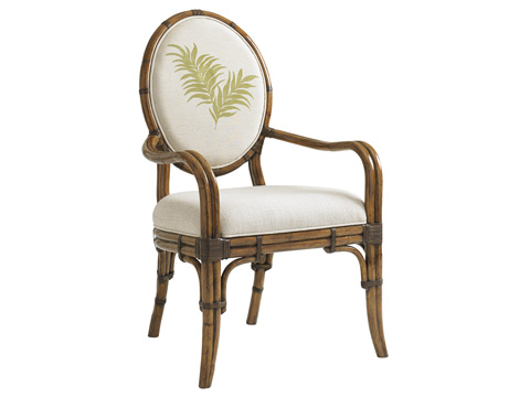 Image of Gulfstream Oval Back Arm Chair