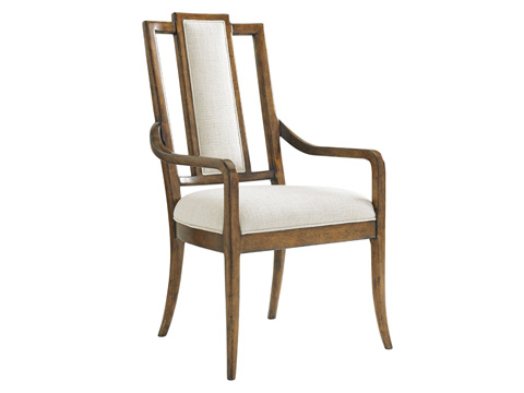 Image of St. Barts Splat Back Arm Chair