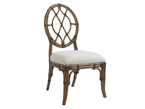 Image of Cedar Key Oval Back Side Chair