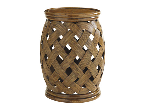 Image of Hibiscus Round Accent Table