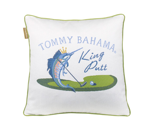 Image of King Putt Throw Pillow
