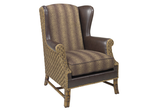 Image of Sanctuary Leather Wing Chair