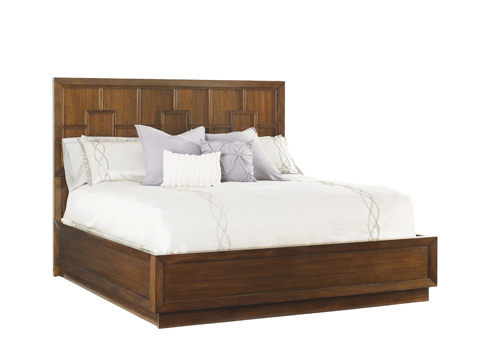 Image of Harlow California King Panel Bed