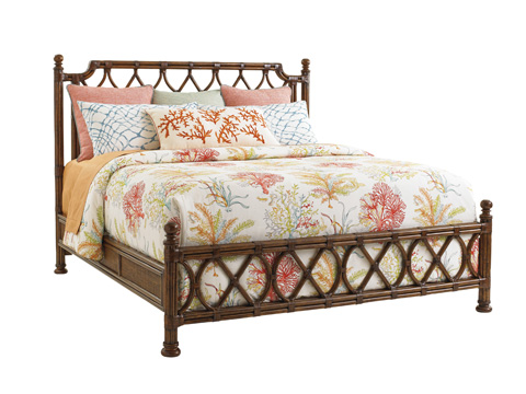 Image of Island Breeze King Rattan Bed