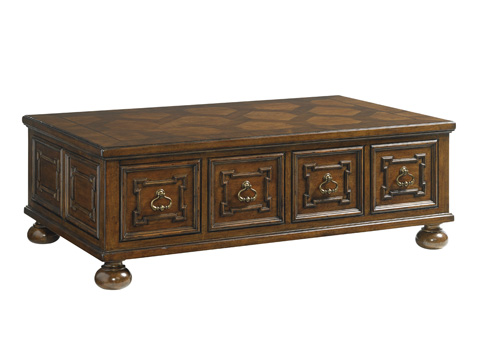 Image of Pine Valley Storage Cocktail Table