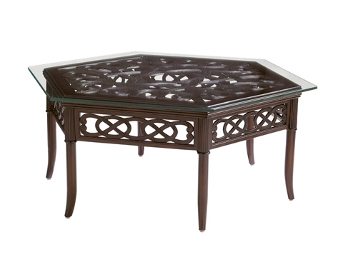 Tommy Bahama - Outdoor Hexagonal Cocktail Table - 3235-943TABLE