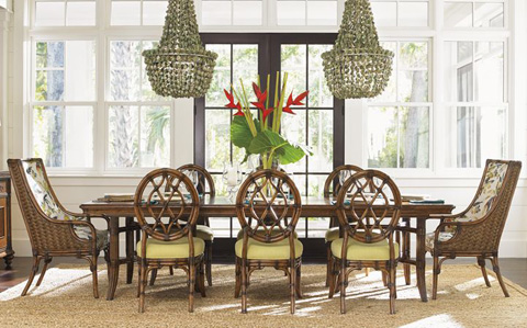 Tommy Bahama - Bali Hai Dining Room Set - BALIDINING1
