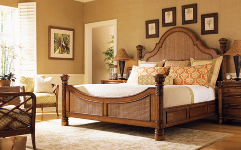 Tommy Bahama - Island Estate Bedroom Set - ISLANDESTATEBEDROOM1