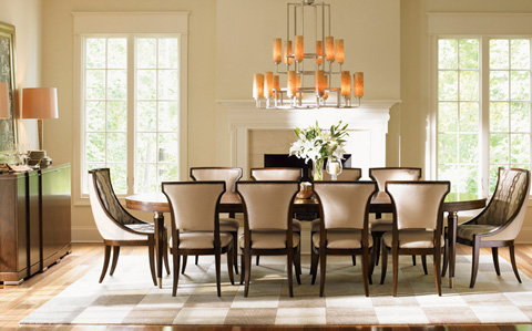 Lexington Home Brands - Tower Place Dining Room Set - TOWERPLACEDINING2