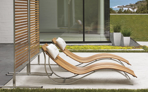 Tommy Bahama - Tres Chic Outdoor Seating Set - TRESLIVING2
