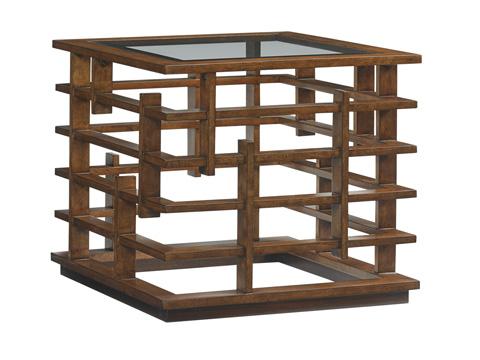Image of Nobu Square Lamp Table