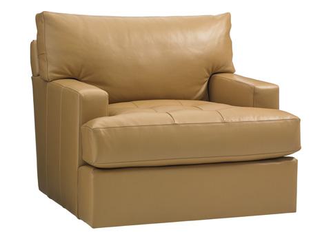 Image of Osaka Leather Swivel Chair