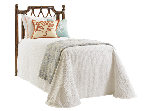 Image of Island Breeze Twin Rattan Headboard
