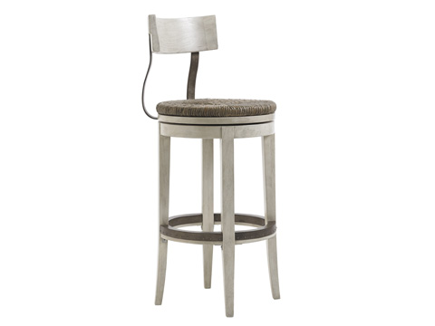 Image of Merrick Swivel Barstool