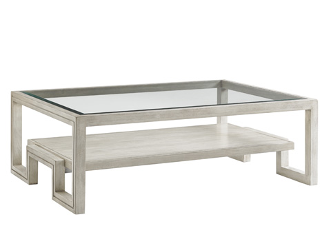Lexington Home Brands - Saddlebrook Rectangular Cocktail Table - 714-943