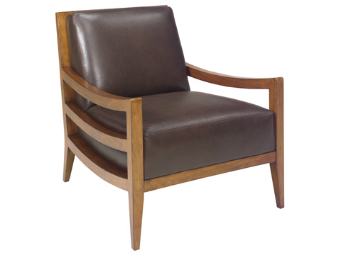 Lexington Home Brands - Singapore Leather Chair - LL1684-11