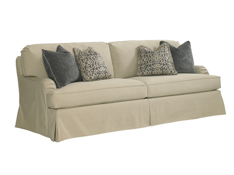 Lexington Home Brands - Stowe Sofa with Khaki Slipcover - SC7476-33KH