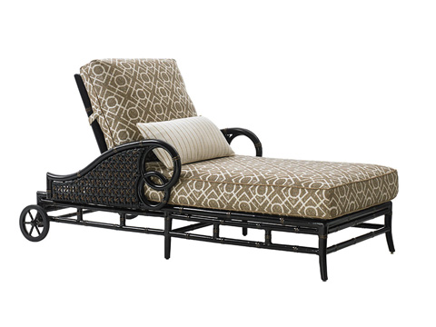 Image of Outdoor Chaise Lounge