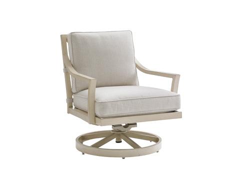 Lexington Home Brands - Outdoor Swivel Rocker Lounge Chair - 3239-11SR