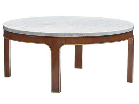 Lexington Home Brands - Interlude Round Cocktail Table - 723-943