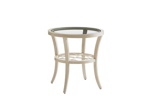 Image of Outdoor Round End Table
