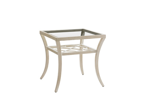Image of Outdoor Square End Table