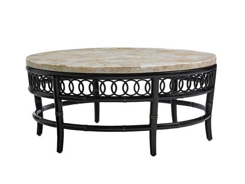 Image of Marimba Round Cocktail Table