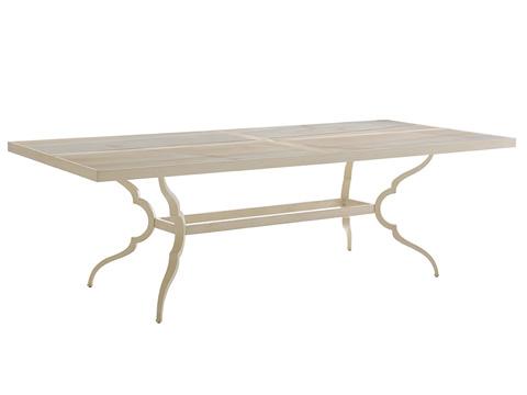 Image of Misty Garden Rectangular Dining Table