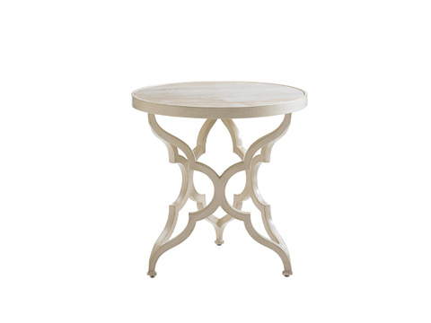 Image of Misty Garden Round Accent Table